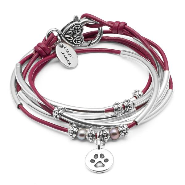The Charmer wrap bracelets  are designed to accommodate multiple charms you can customize your artisan jewelry.