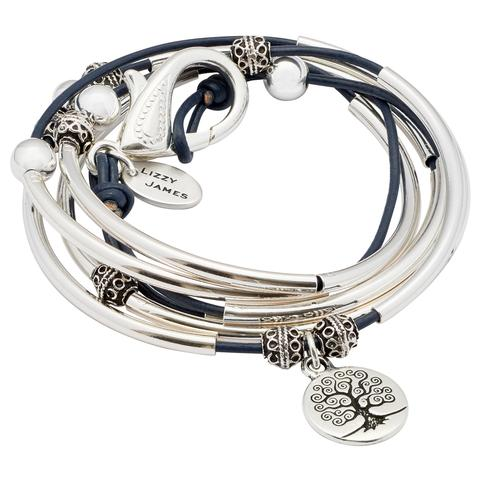 "The April with Tree of Life charm     ""I just received this bracelet. It is beautiful!!!! I chose the gloss navy as shown in the photo. So, I am now hooked, and I will show my friends, then they will fall in love too, and we will have LJ parties, YAY! :) ""      - Kara, Verified Buyer, 08/10/16"