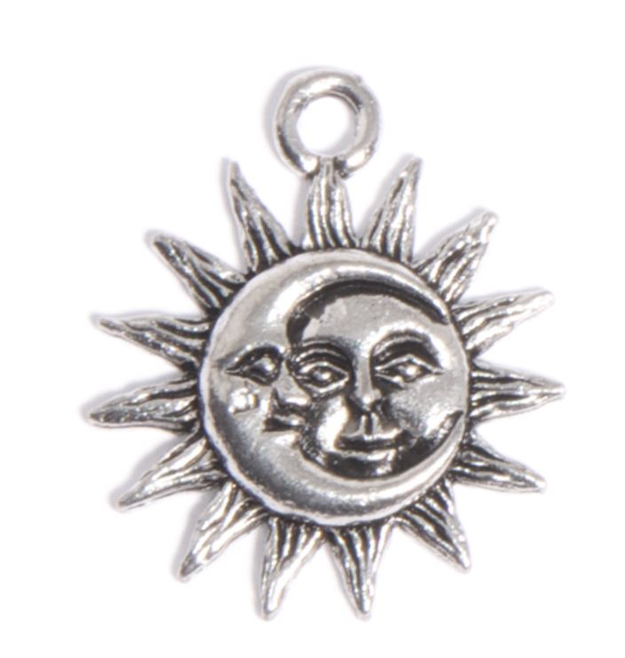 The  Moon Sun Charm , FREE with any purchase of $39 or more on 4/22 using code EARTH!