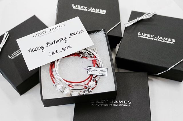 Lizzy James gift packaging is the perfect finishing touch for any gift!