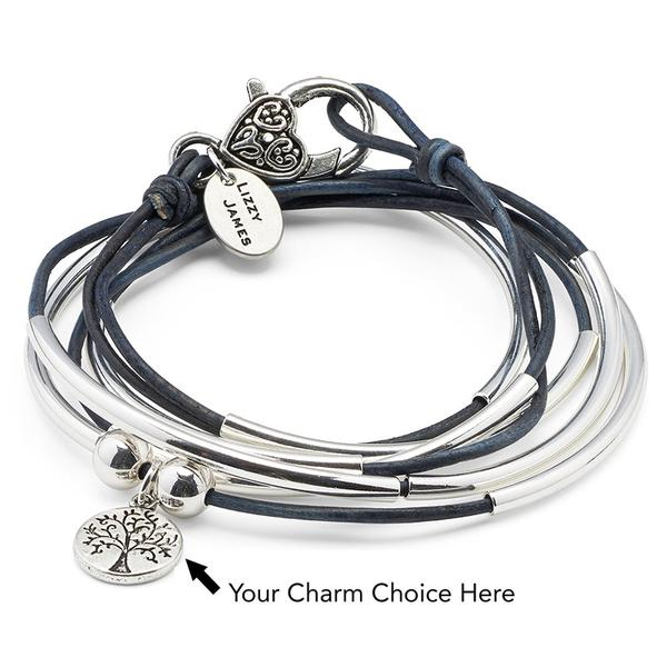 "The Girlfriend  ""add your charm choice"", allows you to choose your charm separately."