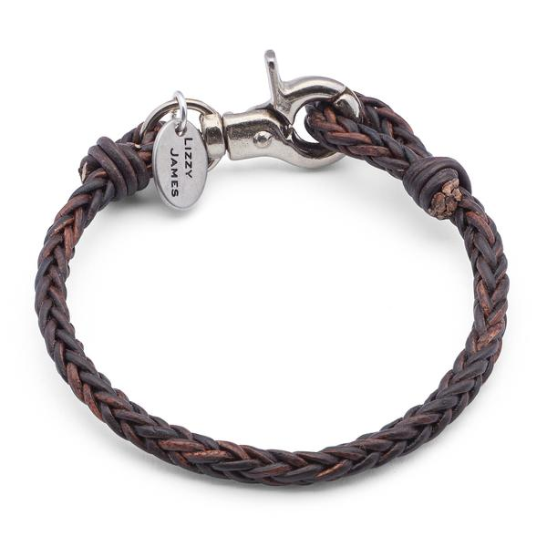 The  Jack  shown in natural dark brown and is also available in black.