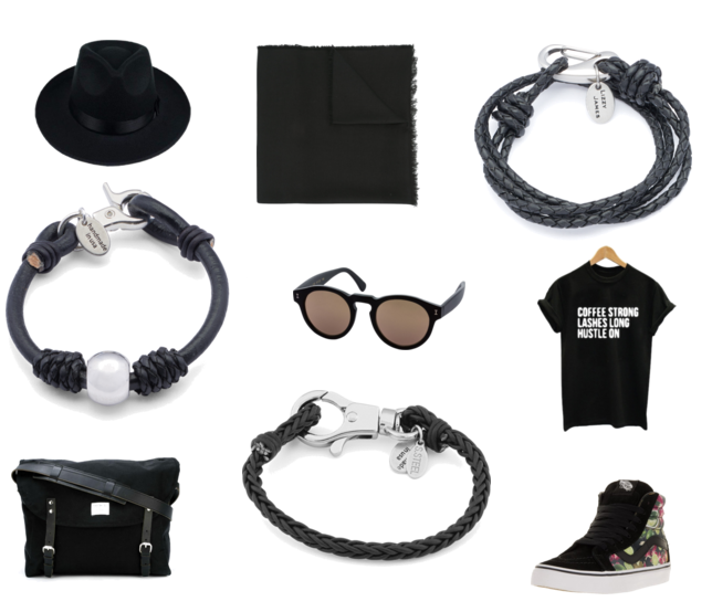For more information on all the items paired with these  Lizzy James unisex wrap bracelets  see the detailed  polyvore set .