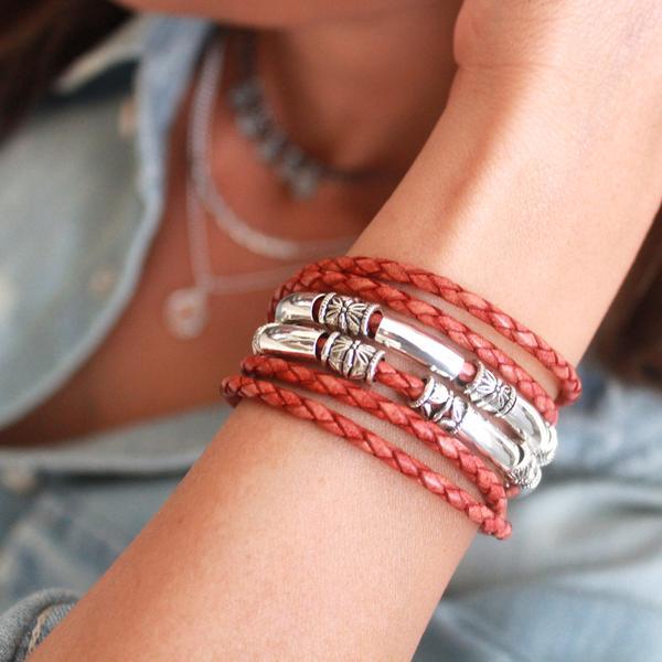 Maxi wrap bracelet