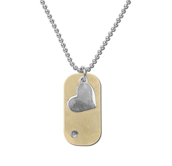 Bailey Dogtag Sterling Silver Necklace - Limited Edition