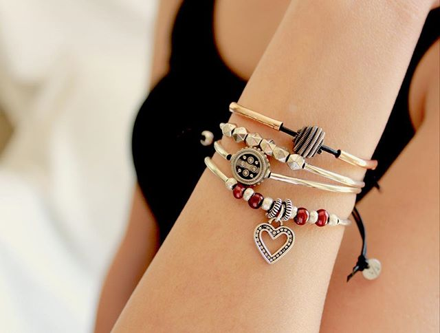 Shown:  Celestial Bracelet ,  Freedom Bracelet ,  Bliss Bracelet all part of the  Joy Collection Adjustable Bracelets