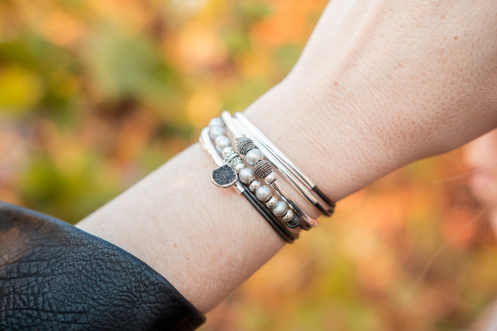 The Suzanne  wrap bracelet