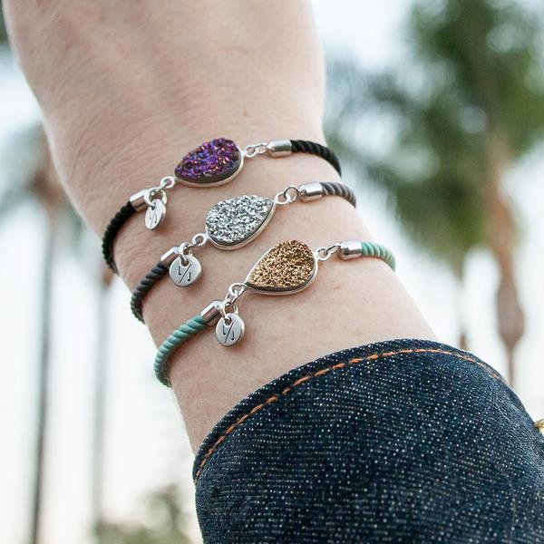 The  Adeline ,  Valentina , and  Ivy  Adjustable Bracelets. All under $50 each!