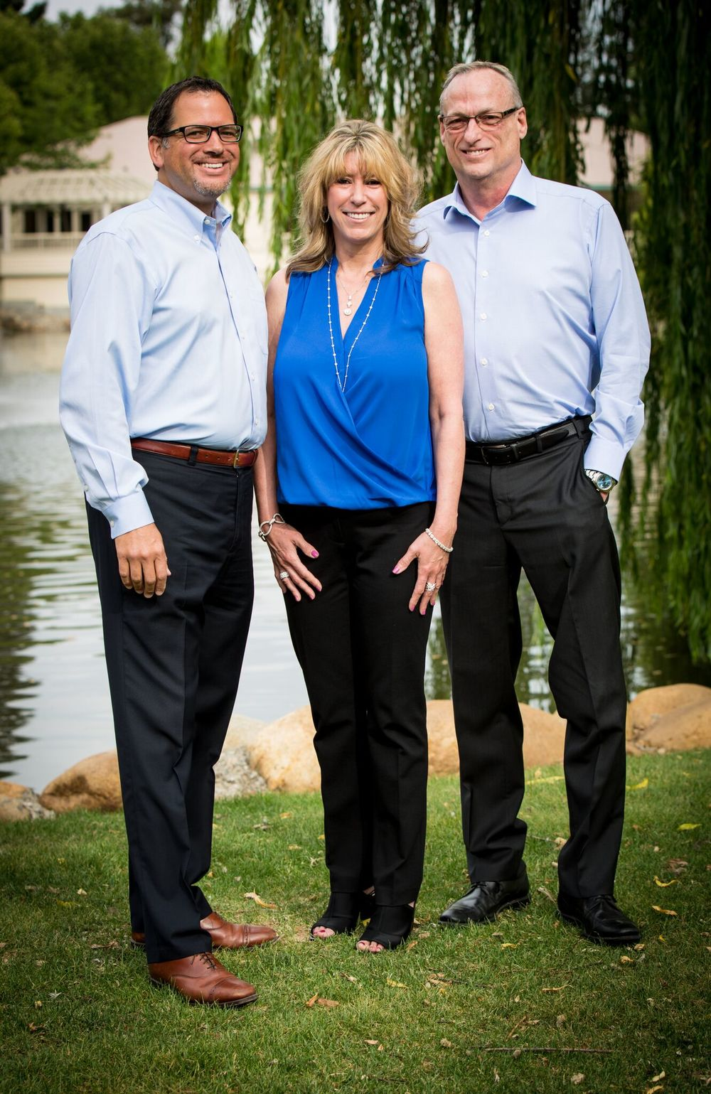 Business partners David Fitts, Julie Kahn-Crowder, and Ron Shelly each bring decades of jewelry experience to DFJ.