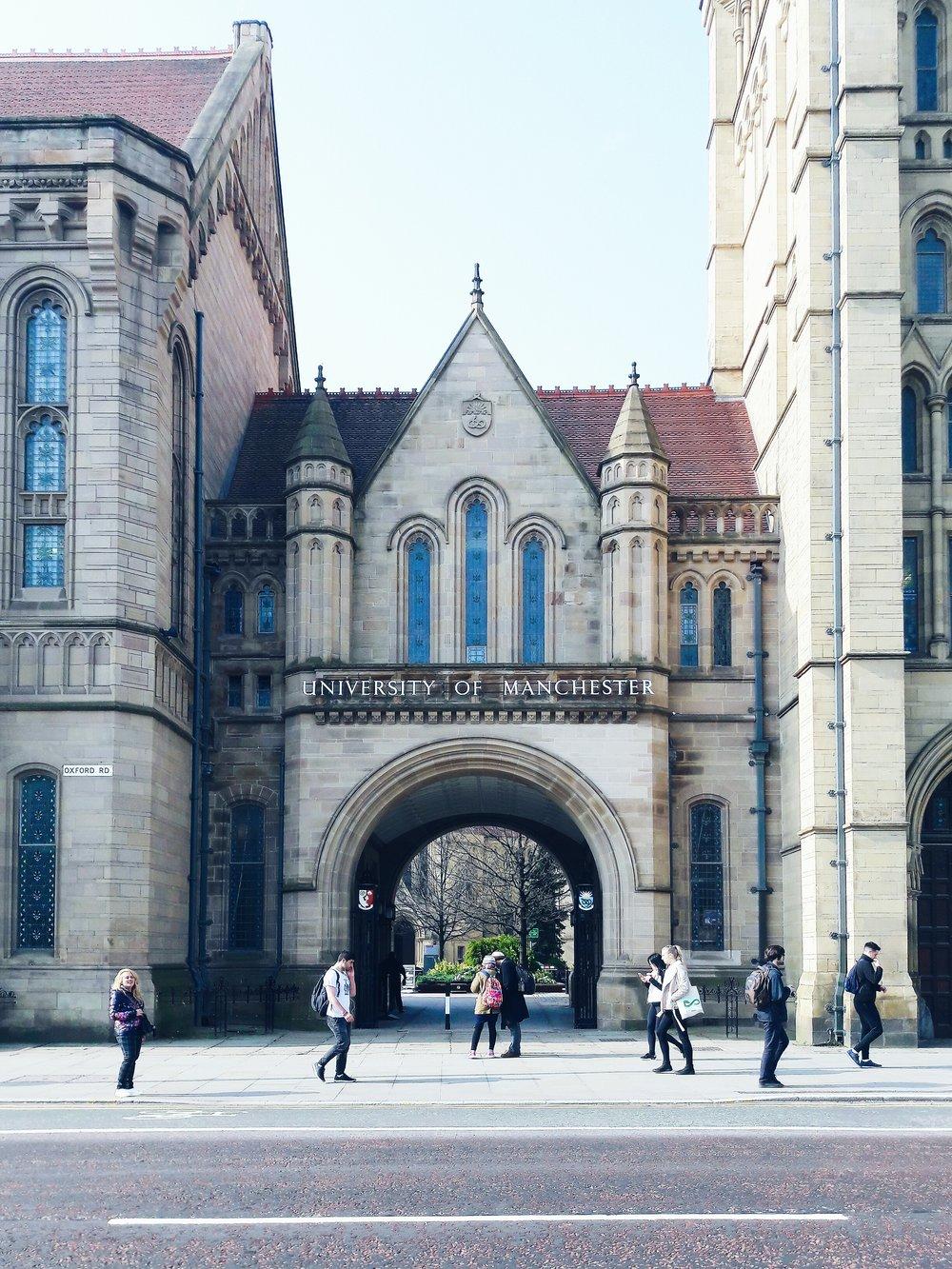 University of Manchester, Whitworth Hall