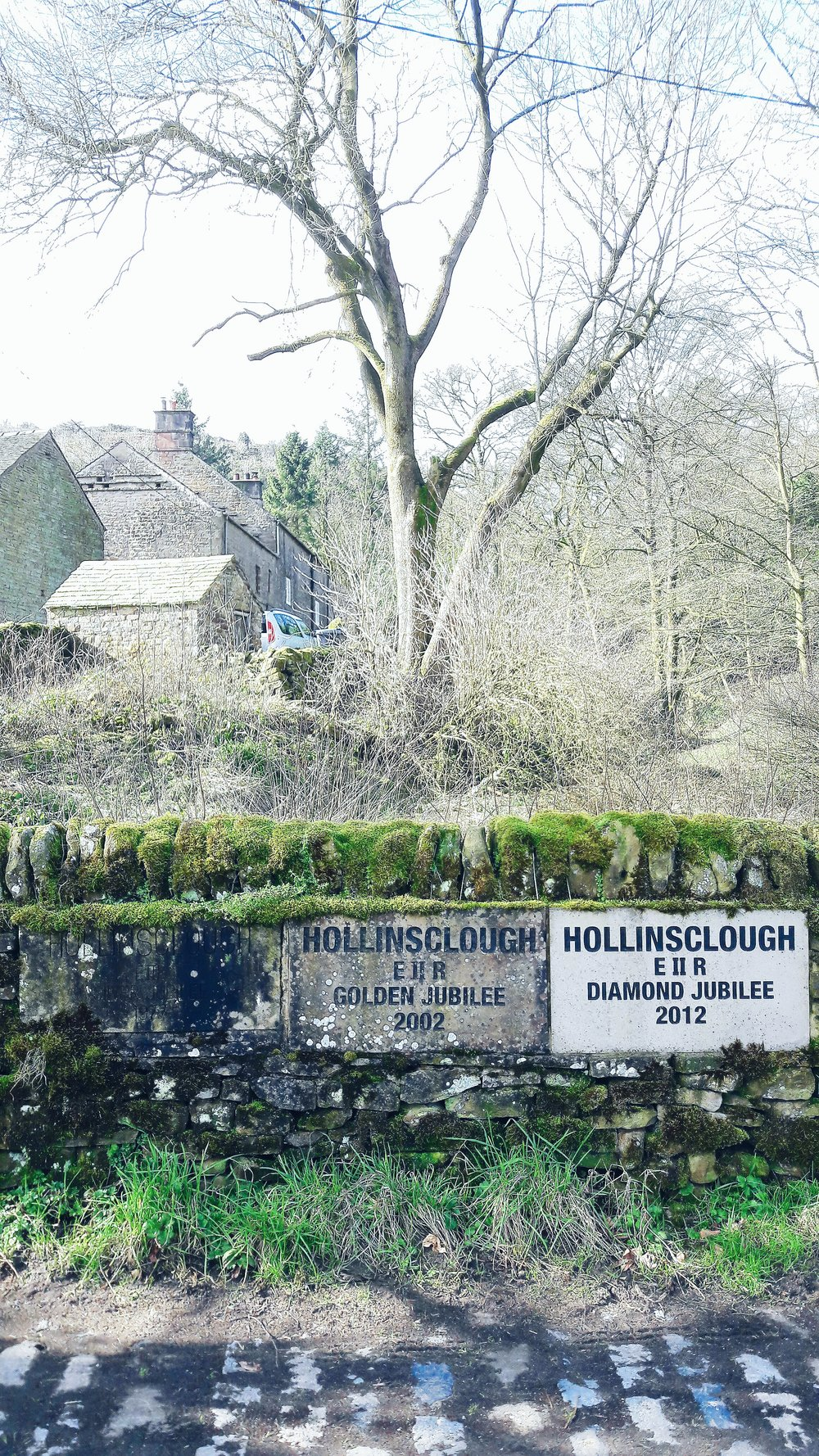 Hollinsclough Jubilee stones