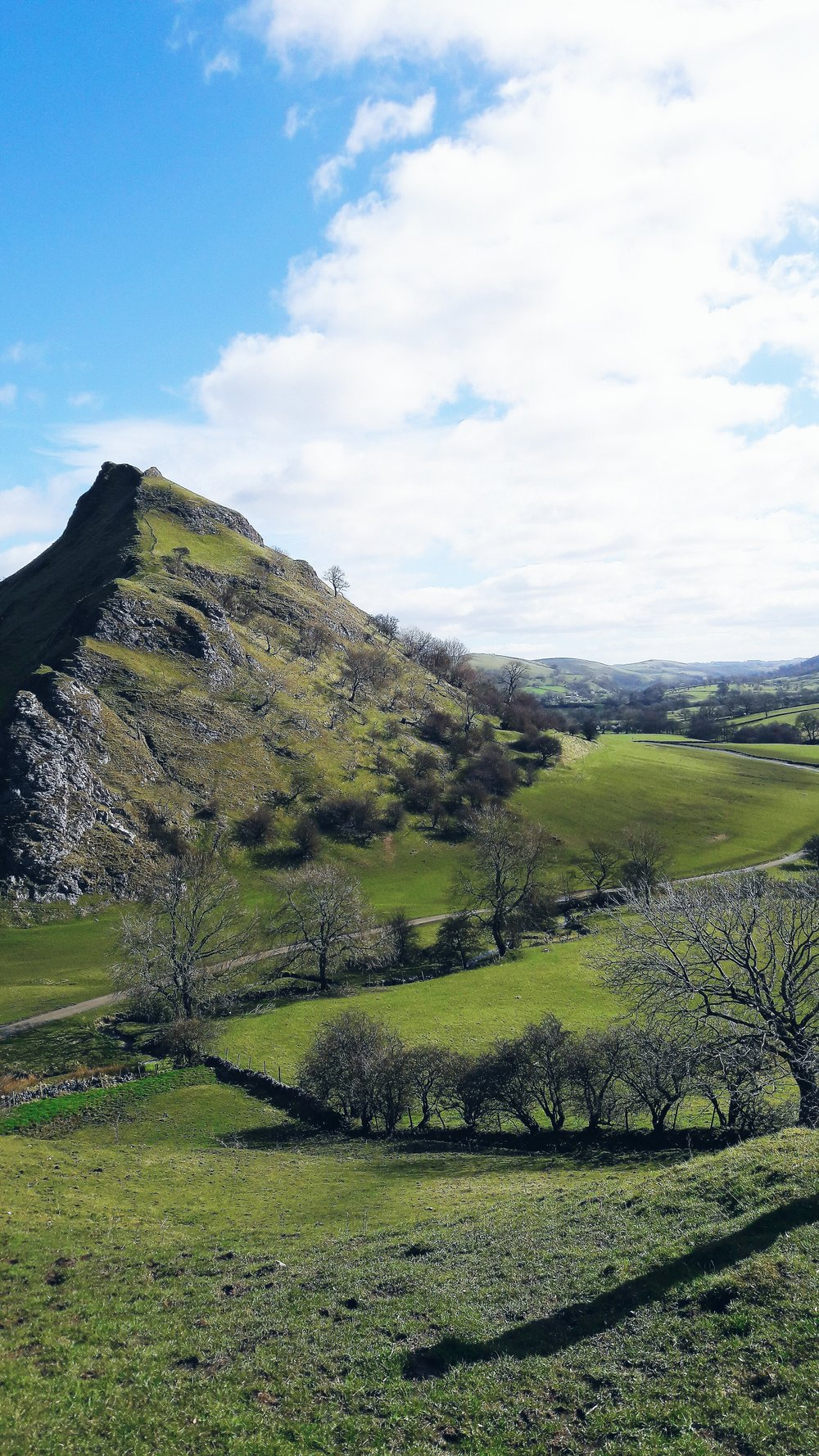 Chrome Hill from across the Peak District