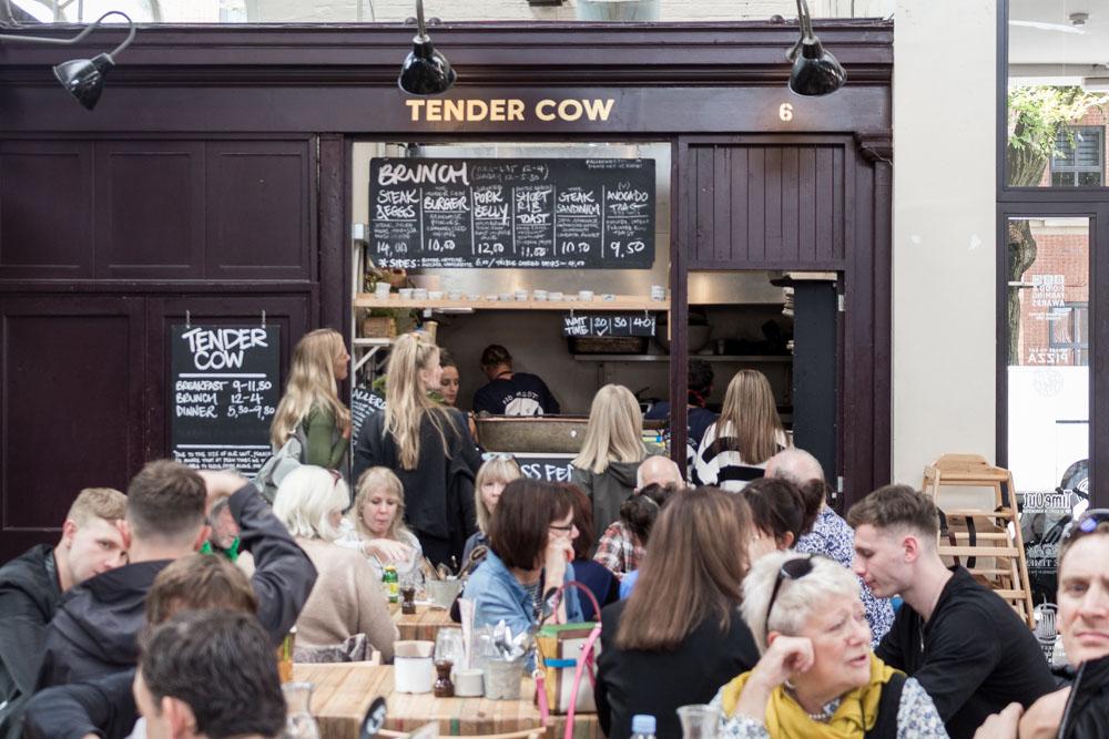 Tender Cow, Altrincham Market, Manchester