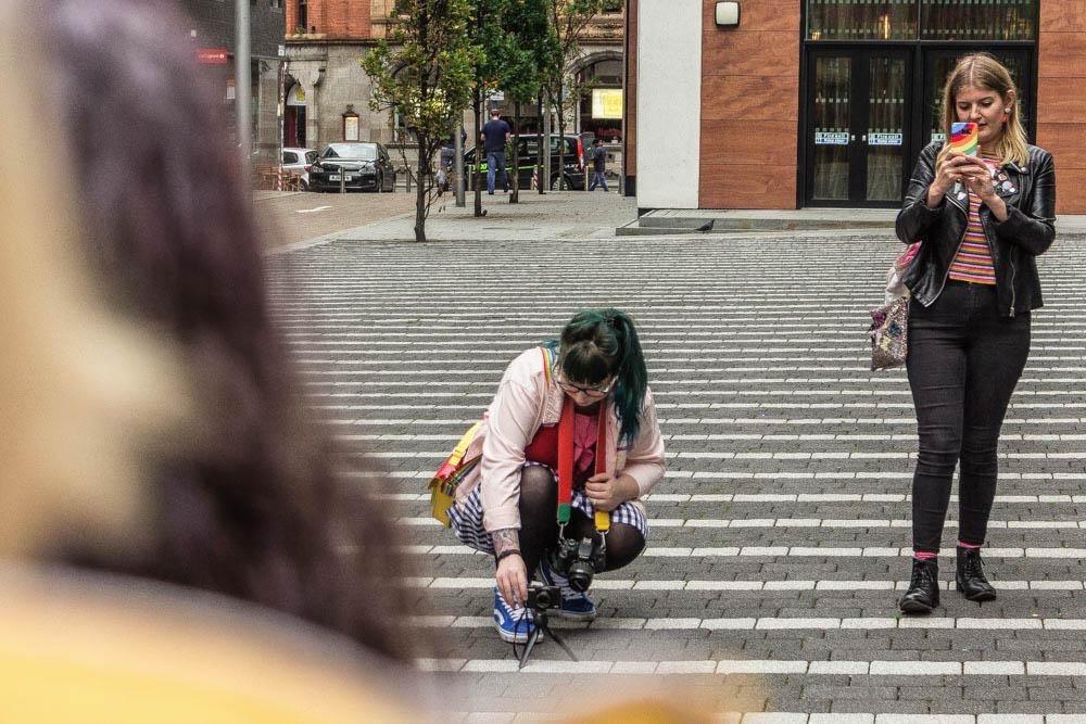 Manchester Colour Walk, In Colourful Company