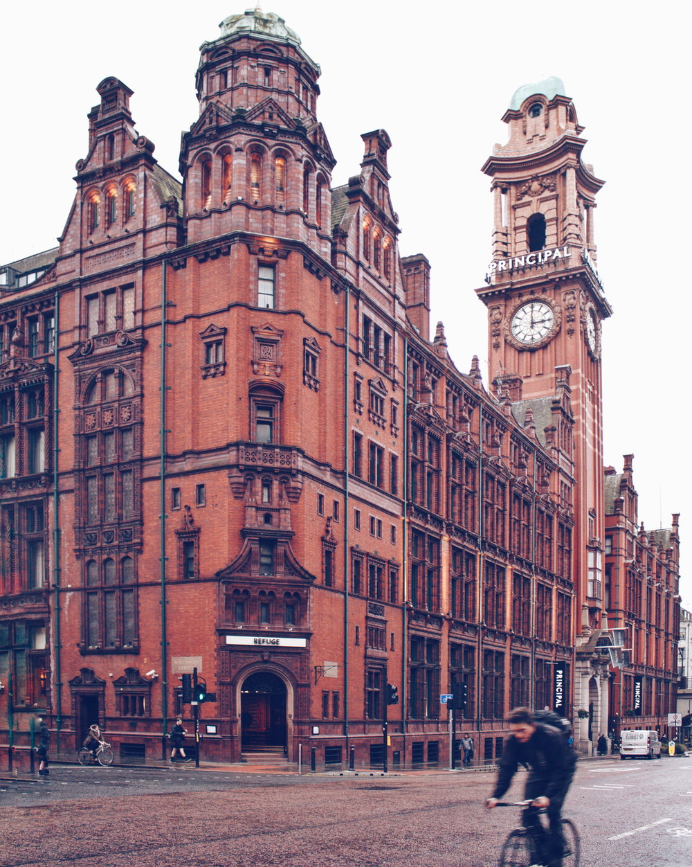 The beautiful Principal Hotel Manchester (aka my new neighbour!)