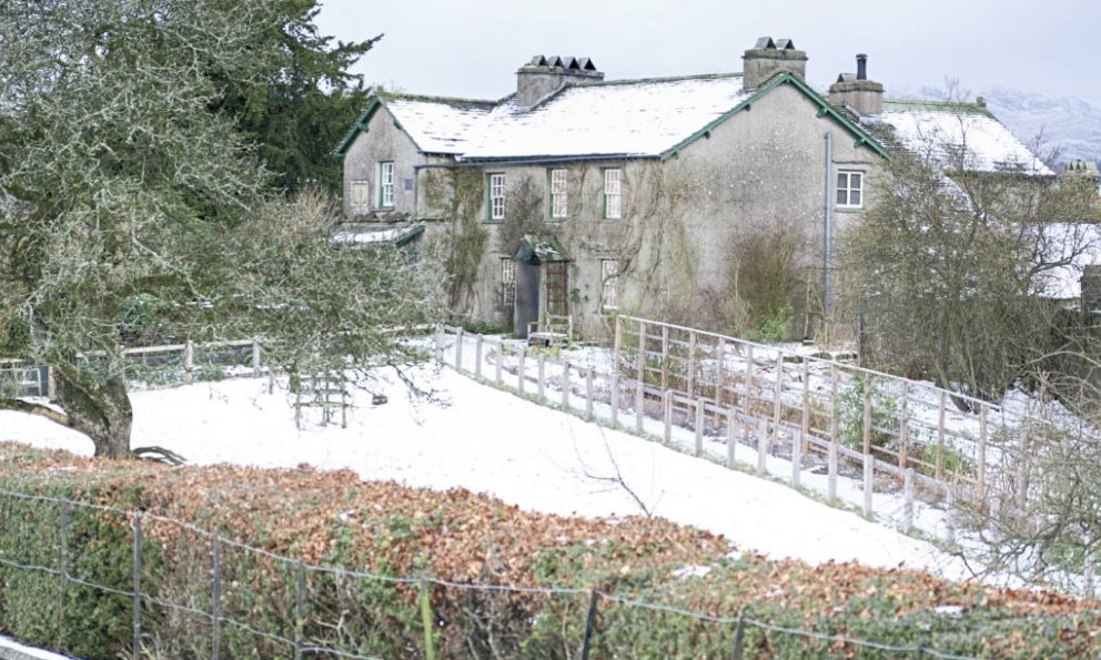 Hilltop in Winter , by the National Trust