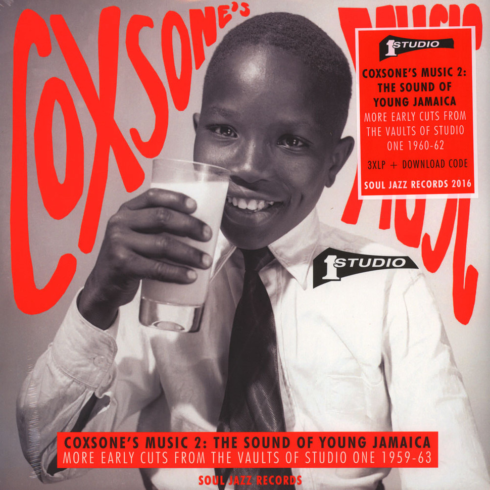 COXSONE'S MUSIC 2- THE SOUND OF YOUNG JAMAICA - MORE EARLY CUTS FROM THE VAULTS OF STUDIO ONE 1959-63.jpg