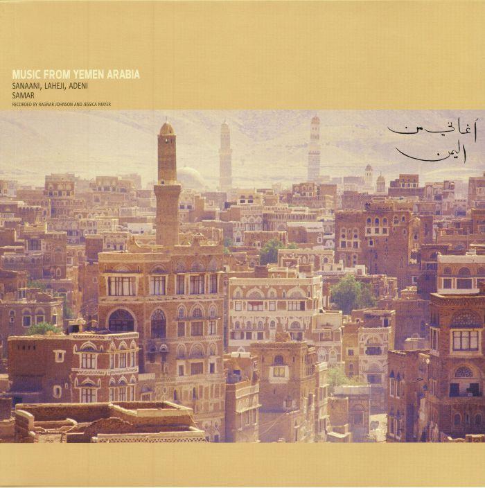 RAGNAR JOHNSON : JESSICA MAYER - MUSIC FROM YEMEN ARABIA- SANAANI LAHEJI ADENI & SAMAR.jpg