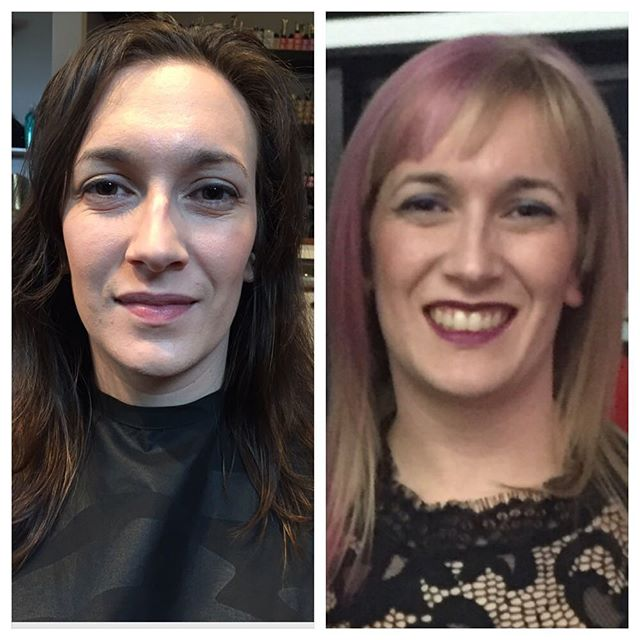showtime for @salon_centre_yukon @joico is in the house. ------------- Models: @neeksafreek @katelynmarien @mmaika2 @jessicacope25 @marisamclennan @chelseasidoruk ------------- Make-Up Artists: @thescreamingflamette @aliciat7884 ------------- Backstage Support: @jayannc @jenica_r @vccsalonspa ------------- @salonmagazine @joicocanada #wethenorthhairshow #joico #lanceblanchette #loungehairyvr  #joicocanada #unison #hairjoi