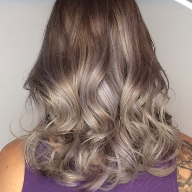 #silver #loungehairyvr #ombre