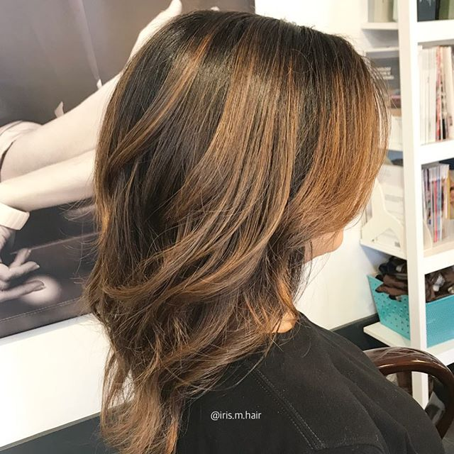Had to take a quick snap of this pretty head of hair. We balayaged her keeping lots of dimension and warmth ❤️ . . . . @joicocanada #hairjoi @olaplex #olaplex #olaplextreatment #haircolour #balayage #balayagehighlights #brunettebalayage #vancouver #vancouversalon #vancouverstylist #vancouverhair #btc #modernsalon #vancity