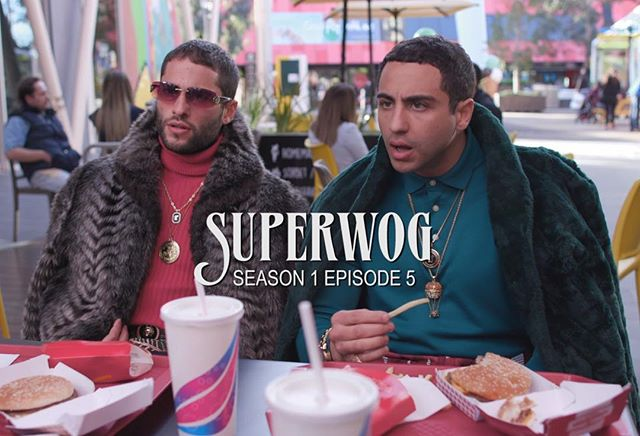 I look like a llama. Ep 5 of the Superwog Series up on our channel now! Link in bio