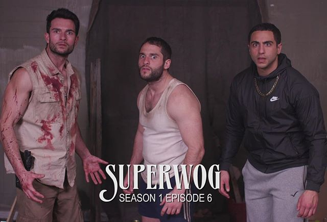 Can you feel the testosterone? Ep 6 (season finale) of the Superwog Series up on our channel now! Link in bio. Thanks to everyone for supporting the series - it's been so fun sharing all this with you and we hope to do more again in the future