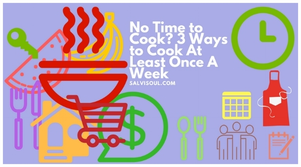 Cooking at home is healthier and saves money YOU CAN DO IT!