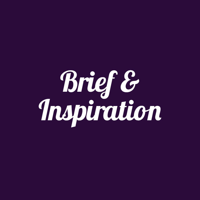 BRIEF & INSPIRATIONS