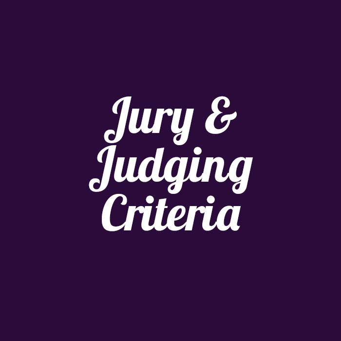 JURY & JUDGING CRITERIA
