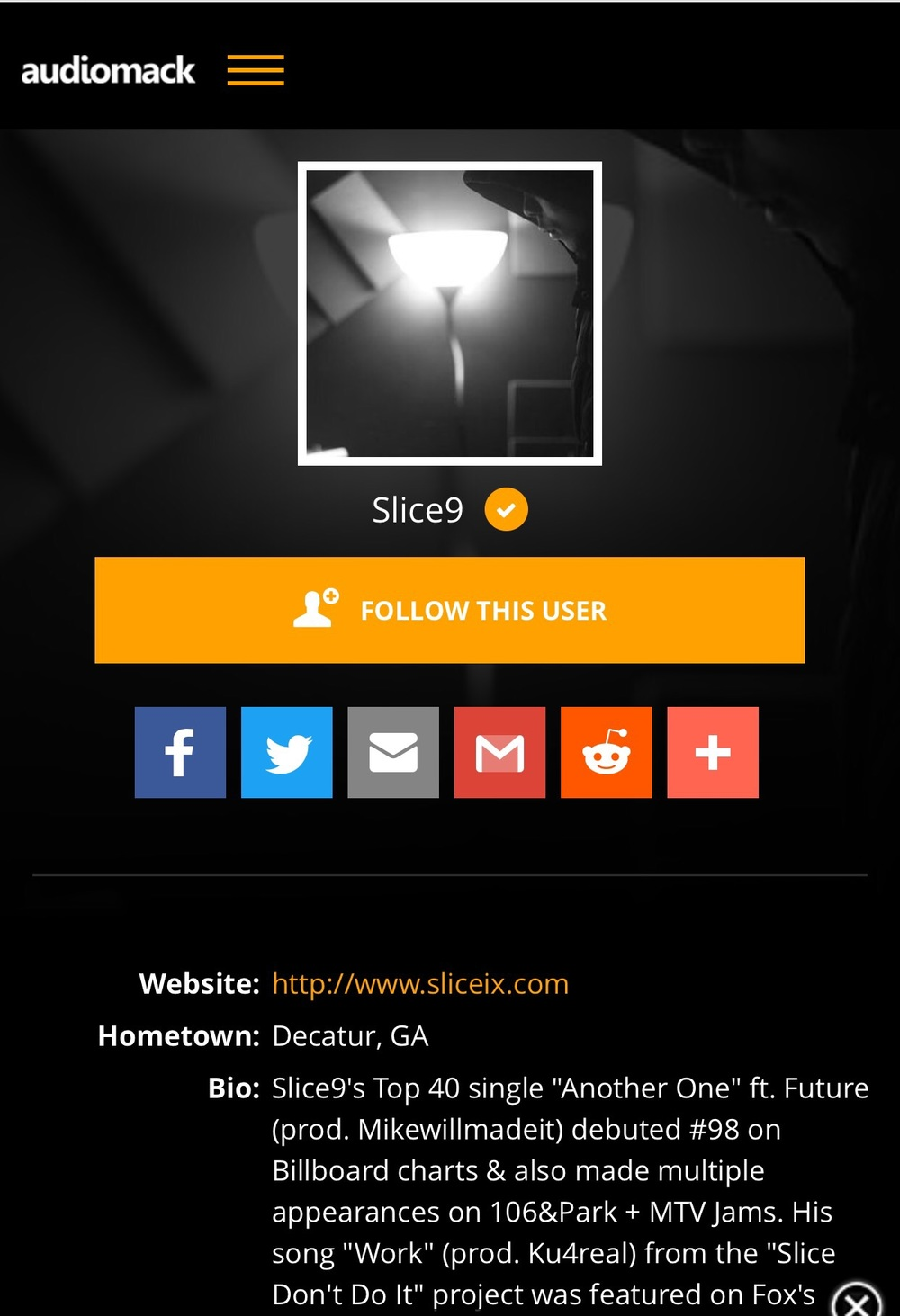 http://m.audiomack.com/artist/slice9