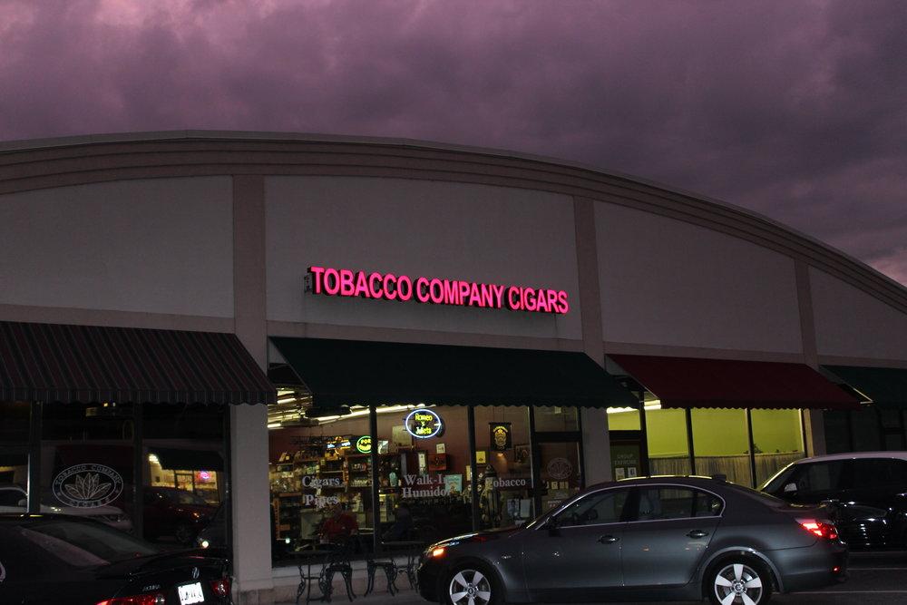 Tobacco Company Lemoyne at Night.JPG