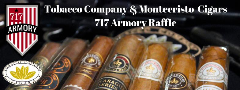 Tobacco Company & Montecristo 717 Armory Raffle.png