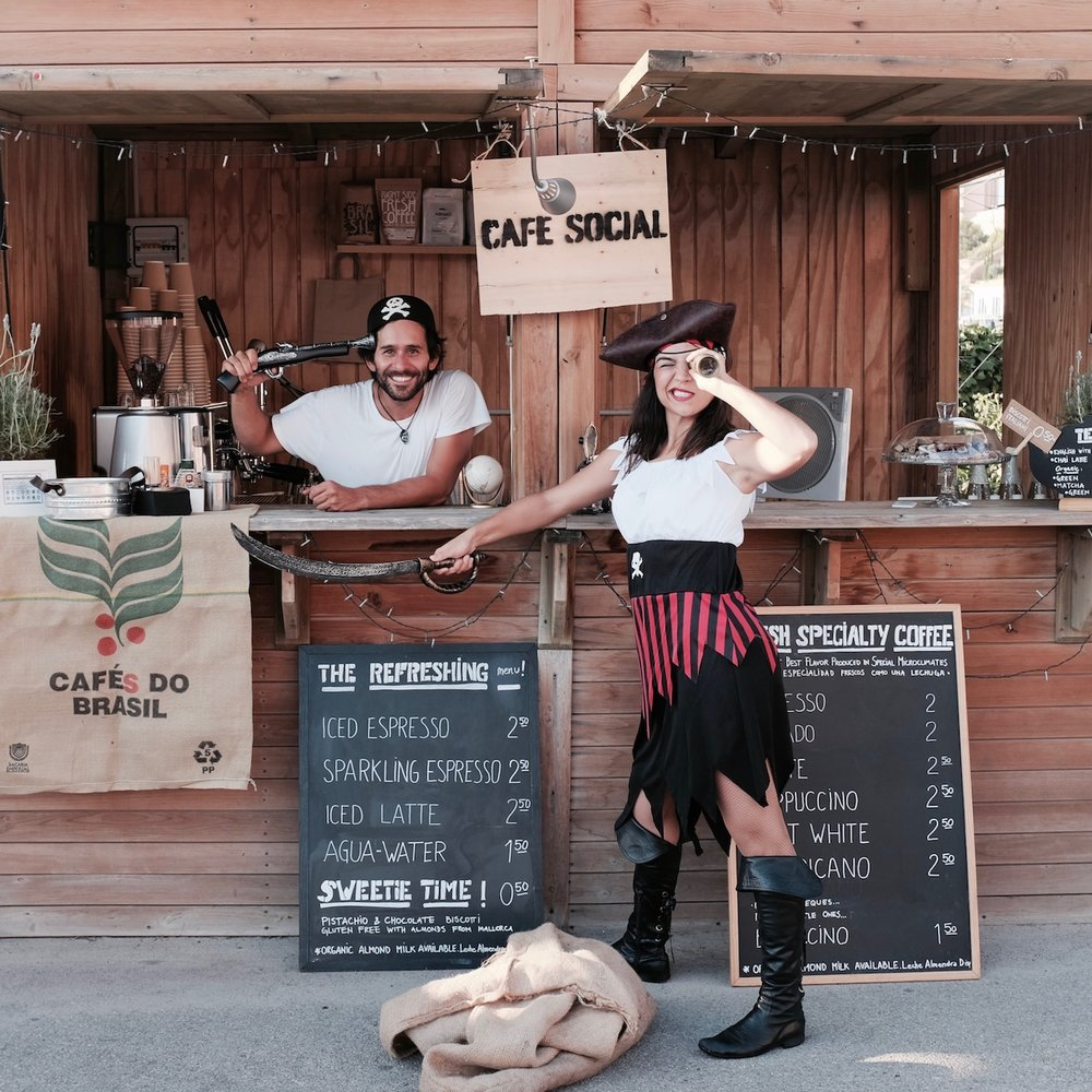 CAFE SOCIAL Mallorca at the Port Adriano Street Food Festival 2017