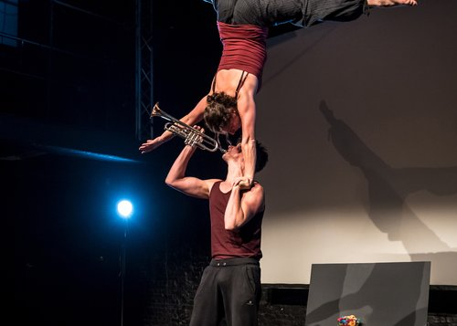 Fullstop Acrobatic Theatre  Boeksoep