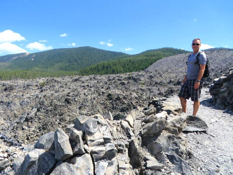 Hiking the Big Obsidian Flow