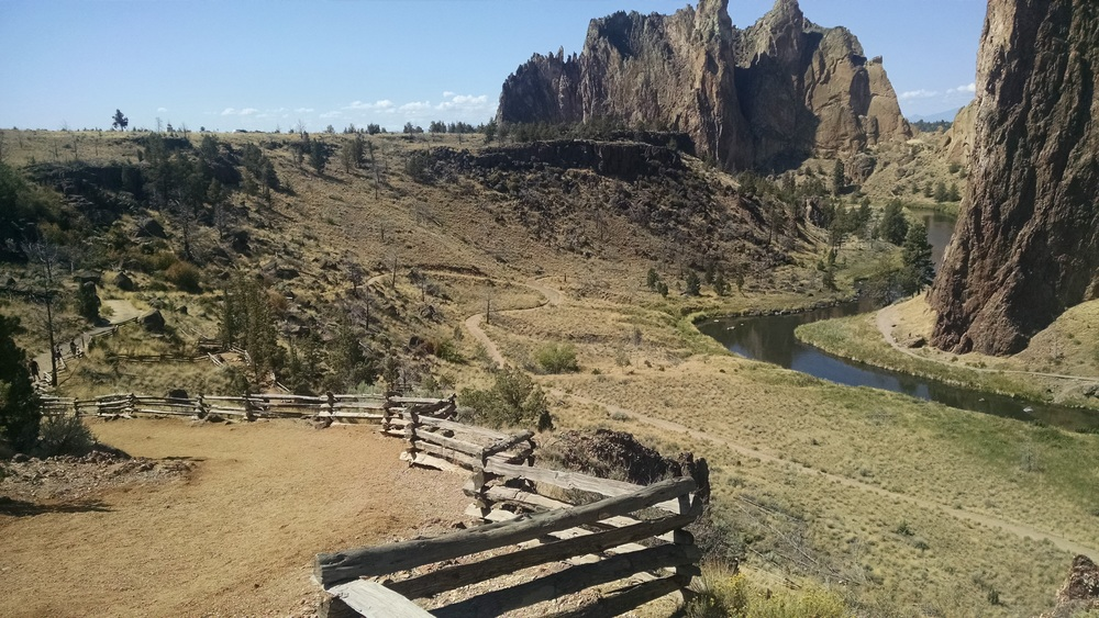 The beautiful Smith Rock State Park