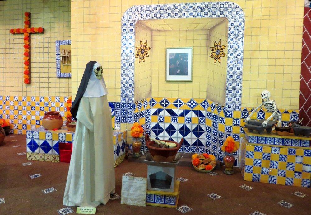 Monjas y Cocina de Santa Rosa:
