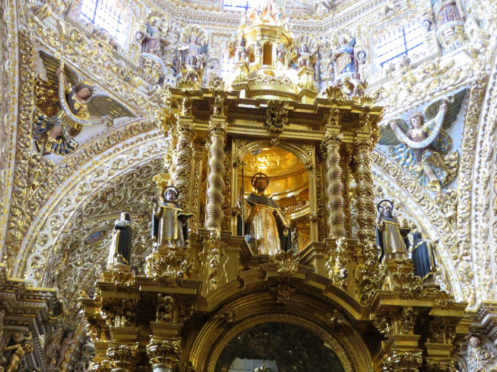 The Capilla del Rosario (Rosary Chapel) inside Santa Domingo is incredible