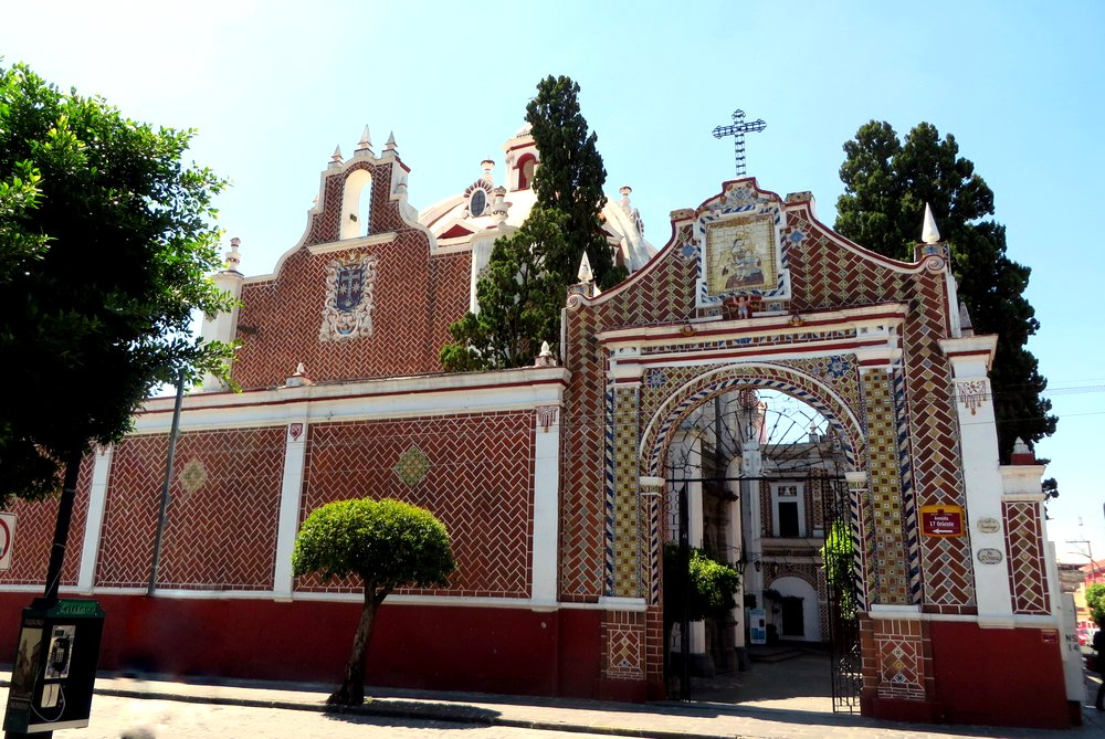 This beautiful church is in the equally wonderful Carmen neighborhood. Templo de Nuestra Señora del Carmen