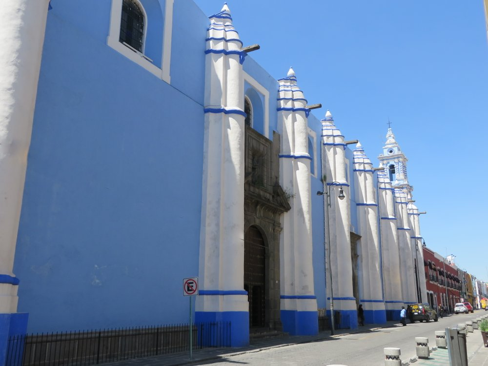 This was one of the most unusual churches.  I am not sure of it's name.  Maybe La inmaculada Concepción