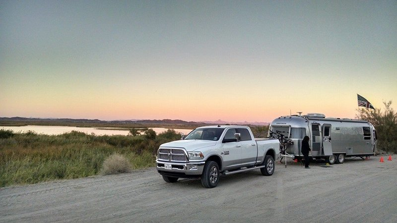 Boondocking at Mittry Lake