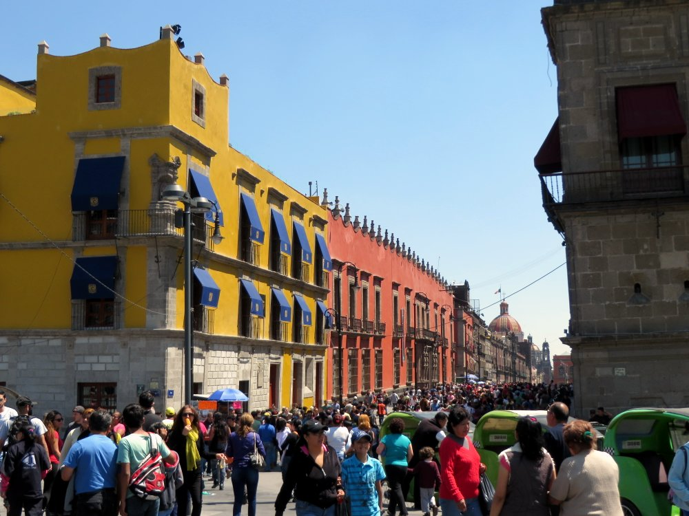 Very busy - Centro Historico