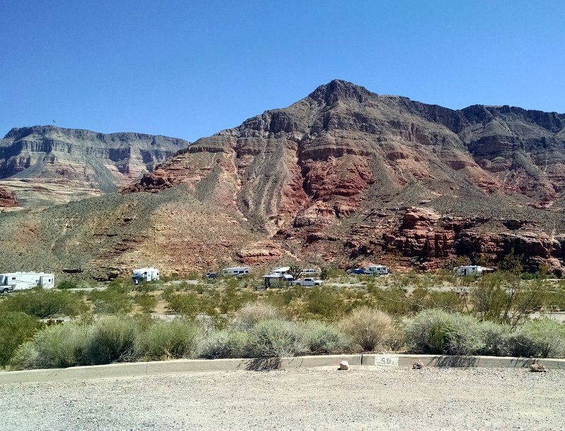 Overnight stop at Virgin River Canyon