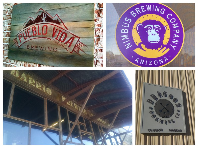 The 4 stops on our Tucson Brewery Tour