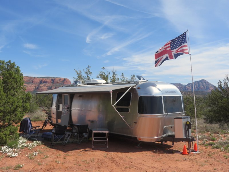 Our wonderful boondocking spot