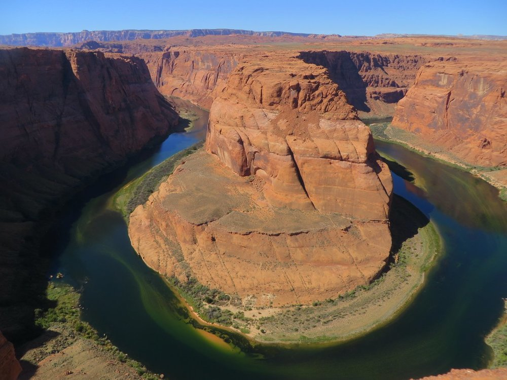 In contrast to Antelope Canyon, there is really only one photo at Horseshoe Bend