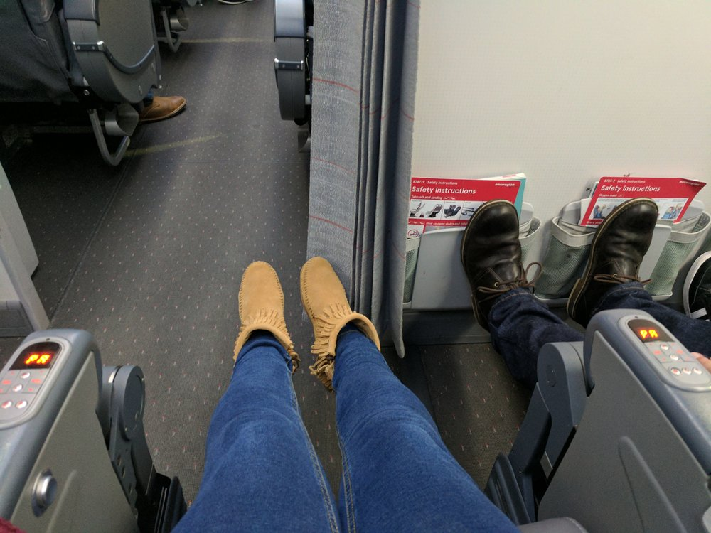 Lots of lovely leg room