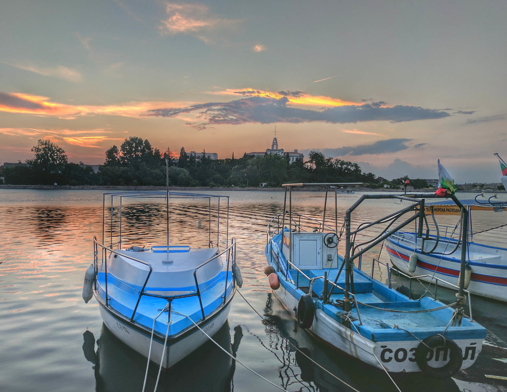 Harbour at Sunset Sozopol 2.jpg