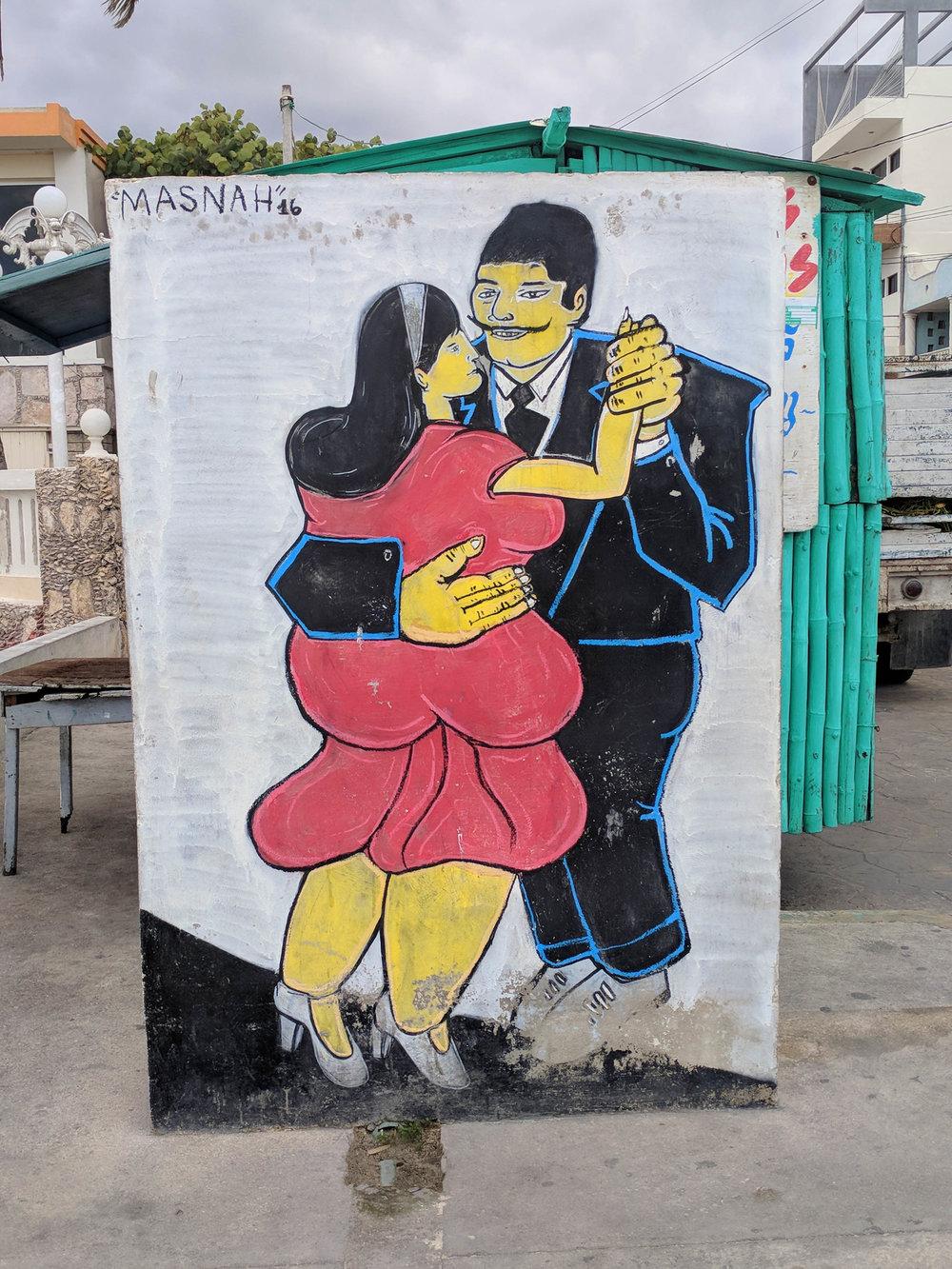 Chubby Street art, progreso.jpg